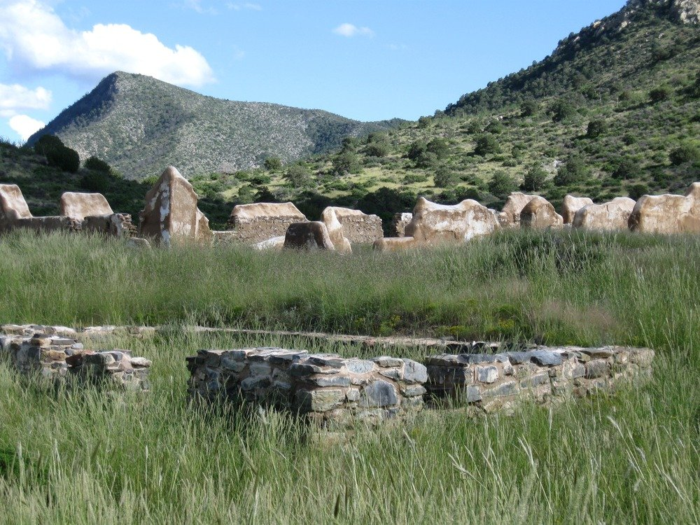 Ruins of Fort Bowie