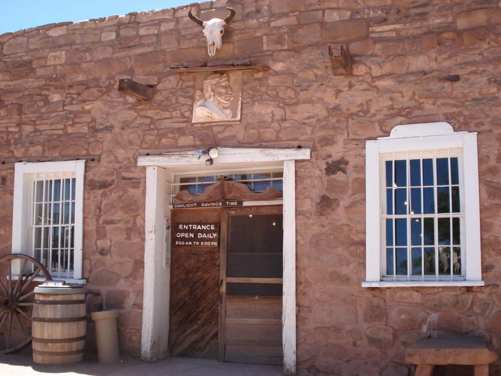 Old trading post building, Hubbell Trading Post