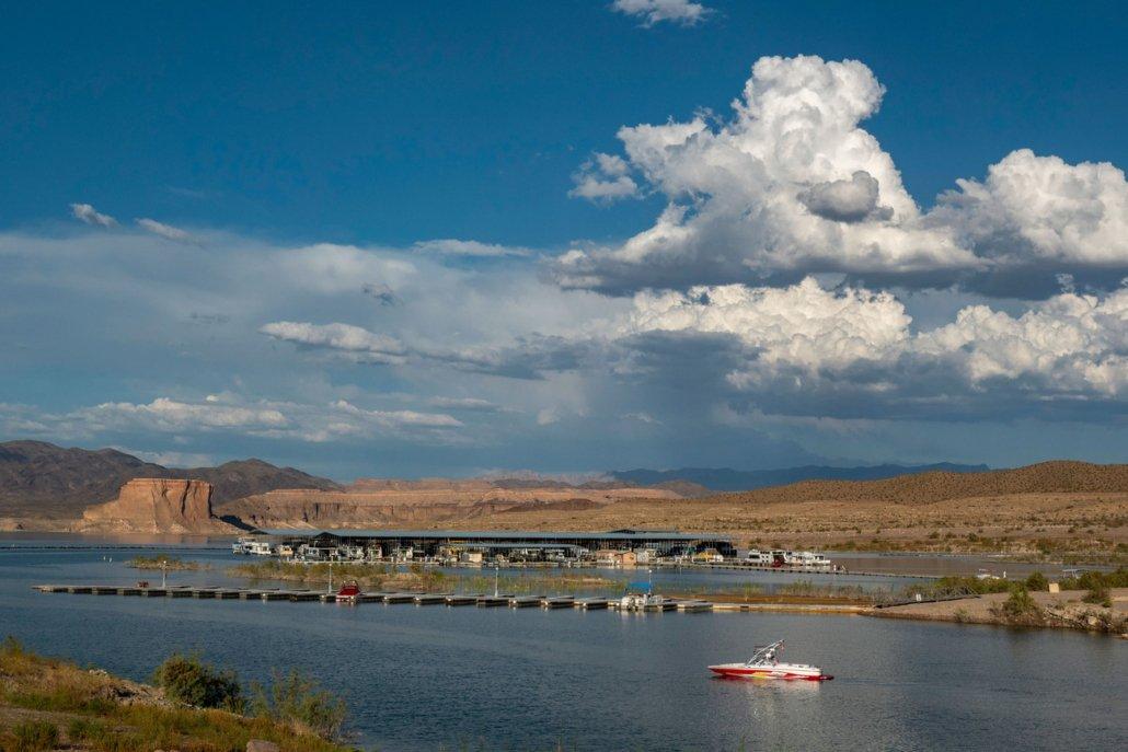 Marina at Lake Mead