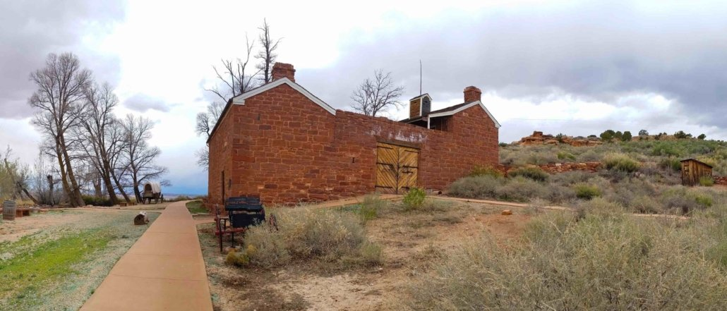 Stone homestead of Pipe Spring National Monument