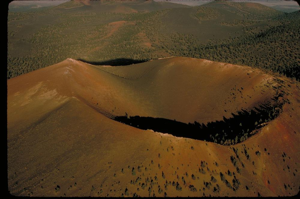 The cinder cone of Sunset Crater