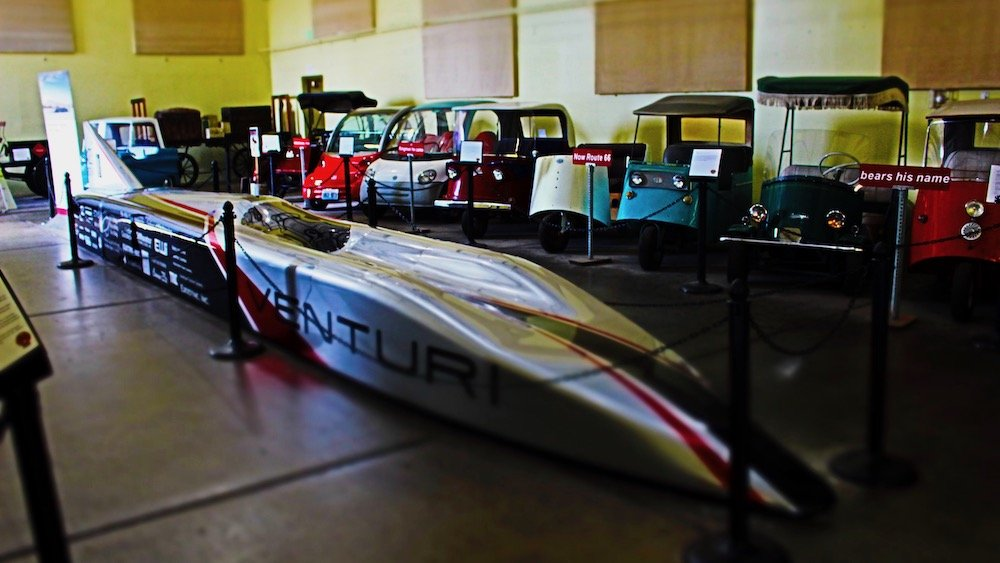 electric race car, route 66 electric vehicle museum arizona