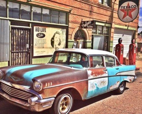 Classic Chevy Bel Air Bisbee Arizona