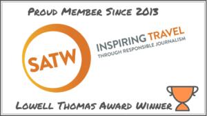 Orange logo-society of american travel writers