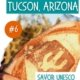 Image of rustic bread with cactus logo-unique things to do in Tucson