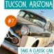 Image of 1950s car in the desert-things to do in Tucson AZ