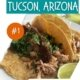 pork tacos with corn tortilla and a lime wedge on the side-unique things to do in tucson az