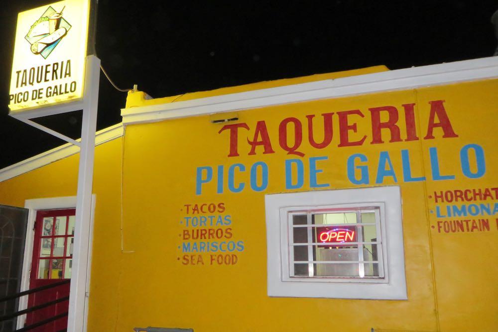 Taqueria Pico de Gallo Tucson Arizona