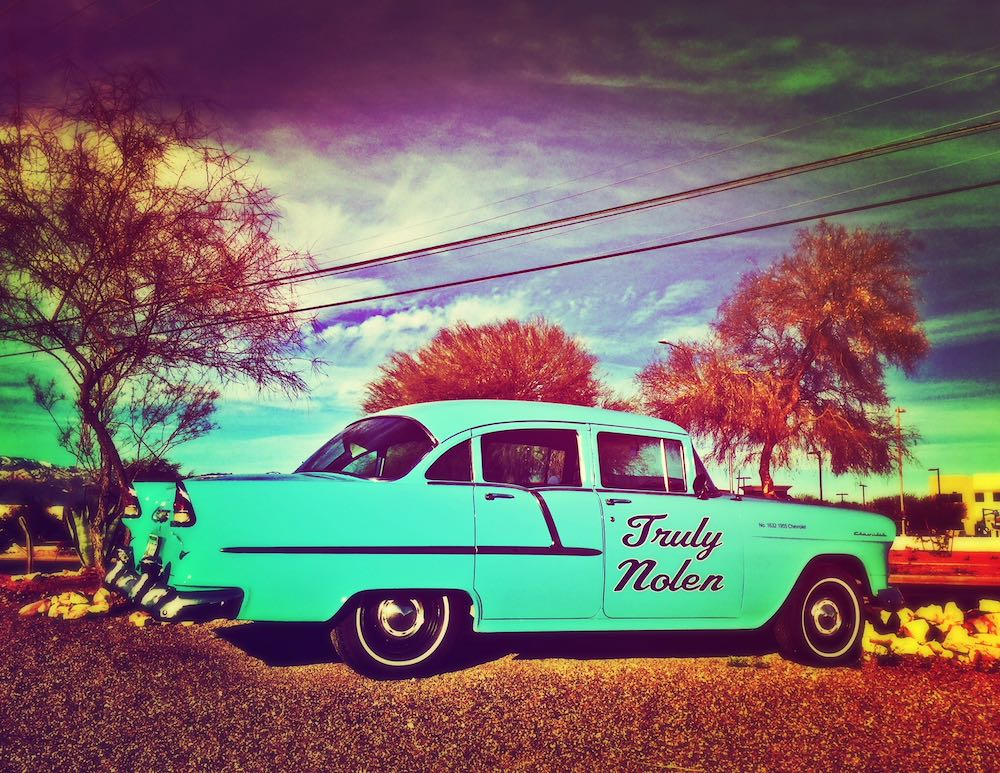 Truly nolen cars in tucson-turquoise chevy