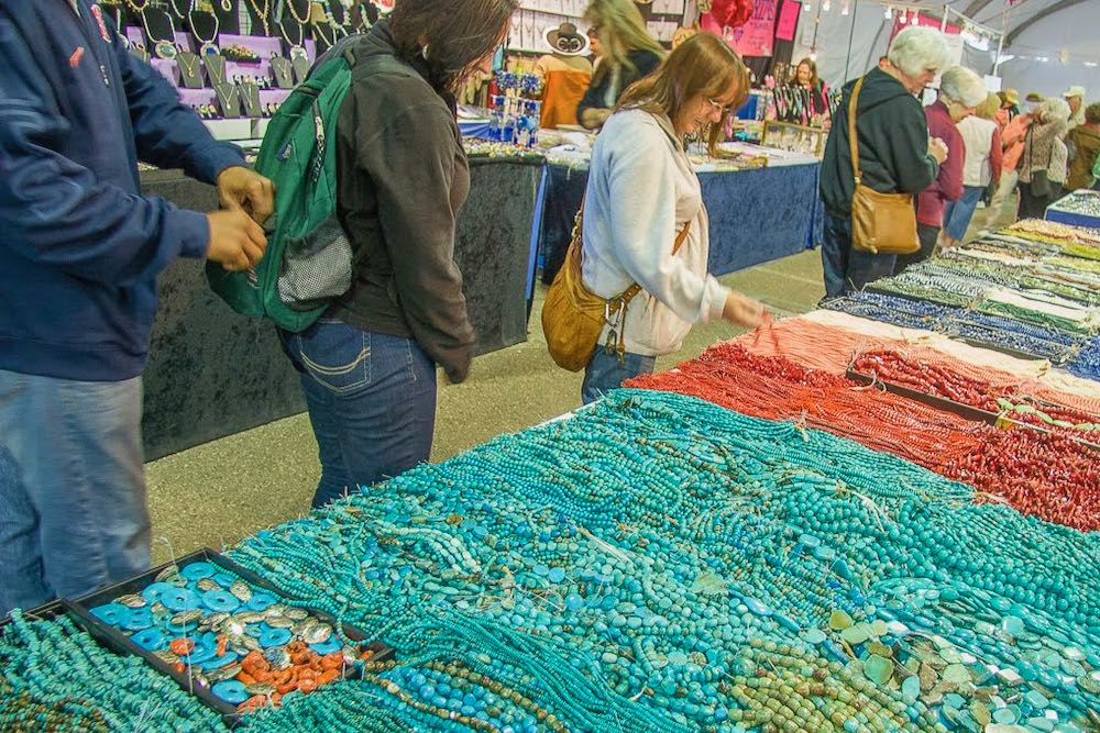 Tucson Gem and Mineral Show turquoise